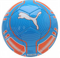 Мяч футбольный evoPOWER 6 Puma сине-оранжевый size 4