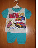 Детский летний костюм на мальчика Рост: 74-80 см