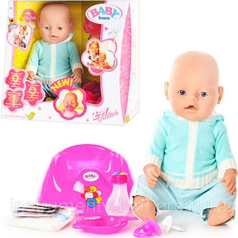 Интерактивная кукла-пупс BABY Born 8001-D (в коробке)