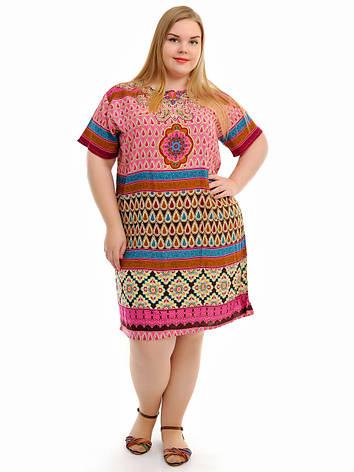 Летнее платье ткань штапель, фото 2