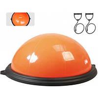 LiveUp Балансировочная полусфера LiveUp BOSU BALL (оранжевый)