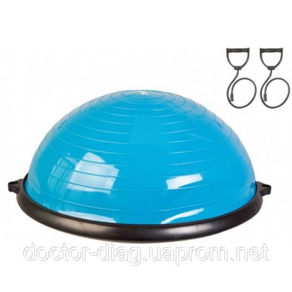 LiveUp Балансировочная полусфера LiveUp BOSU BALL (голубой)