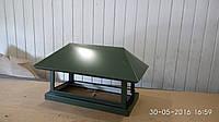 Колпак на дымоходы для мангалов и печей 600*300мм