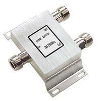 Сплиттер Разветвитель сигнала 1in 2out N типа 380-2500MHz, фото 1