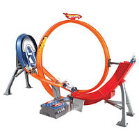 Hot Wheels Super Loop Raceway Power Трек Хот Вилс Безумный форсаж Супер Петля Моторизированный с 5 машинами