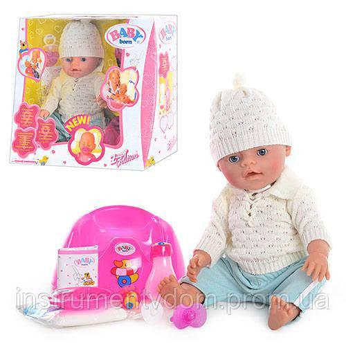 Интерактивная кукла-пупс BABY Born 8001-Е (в коробке)