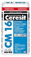 Ceresit CM 16 Easyflex эластичная клеящая смесь 25 кг
