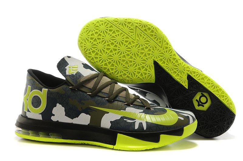 115930d5 Кроссовки в стиле Nike KD 6 Camo Green: фото, купить в Киеве, самые ...