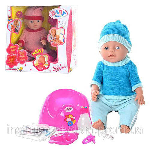 Интерактивная кукла-пупс BABY Born 8001-F (в коробке)