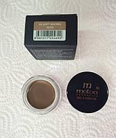 Помада для бровей Malva Gel Eyebrow M-481 Тон 04 - soft brown, теплый коричневый