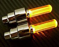 Подсветка дисков на ниппель и золотник, оранжевая.