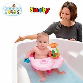 Стульчик для купания 2 в 1 Cotoons Smoby розовый, фото 2