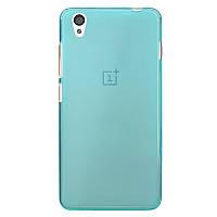 TPU чехол для OnePlus X голубой