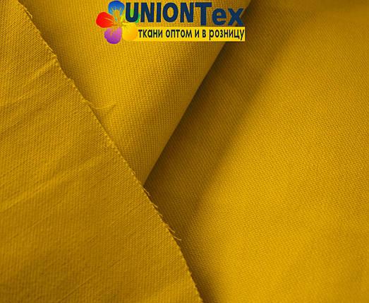 Ткань парка горчичный цвет (190 г/м.кв), фото 2