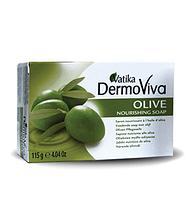 """Мыло оливковое """"Vatika Dermoviva"""", 115 г"""
