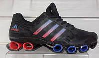 Кроссовки adidas bounce 3d  черные с красным 85014