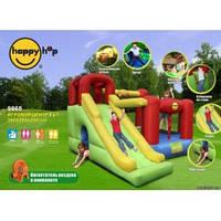 HAPPY-HOP Детский надувной батут 6 в 1 с горкой 9060 HAPPY-HOP игровой центр