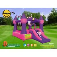 Детский надувной батут HAPPY-HOP Королевский Замок с Горкой Код - 9017p HAPPY-HOP игровой центр