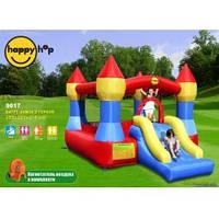Детский надувной батут HAPPY-HOP Замок с Горкой 9017 HAPPY-HOP игровой центр