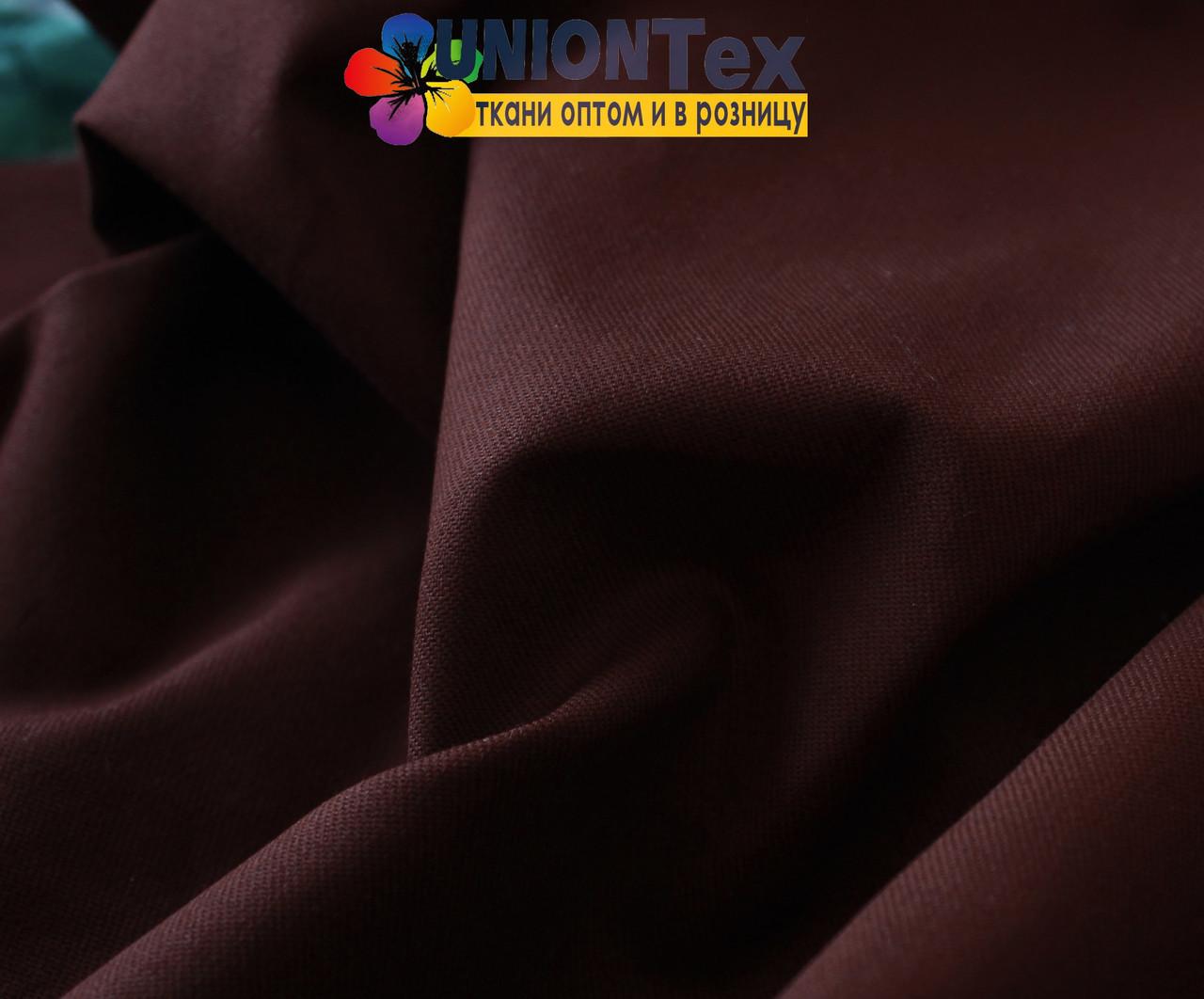 Ткань парка бордовый цвет (190 г/м.кв)