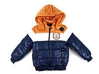 Куртка зимняя детская для мальчиков 140 р.