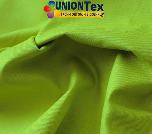 Ткань парка салатовый цвет (190 г/м.кв), фото 2