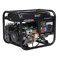 Генератор бензиновый HYUNDAI PROFESSIONAL HY7000LE-3