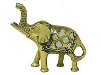 Слон латунный с перламутром (сл-25)