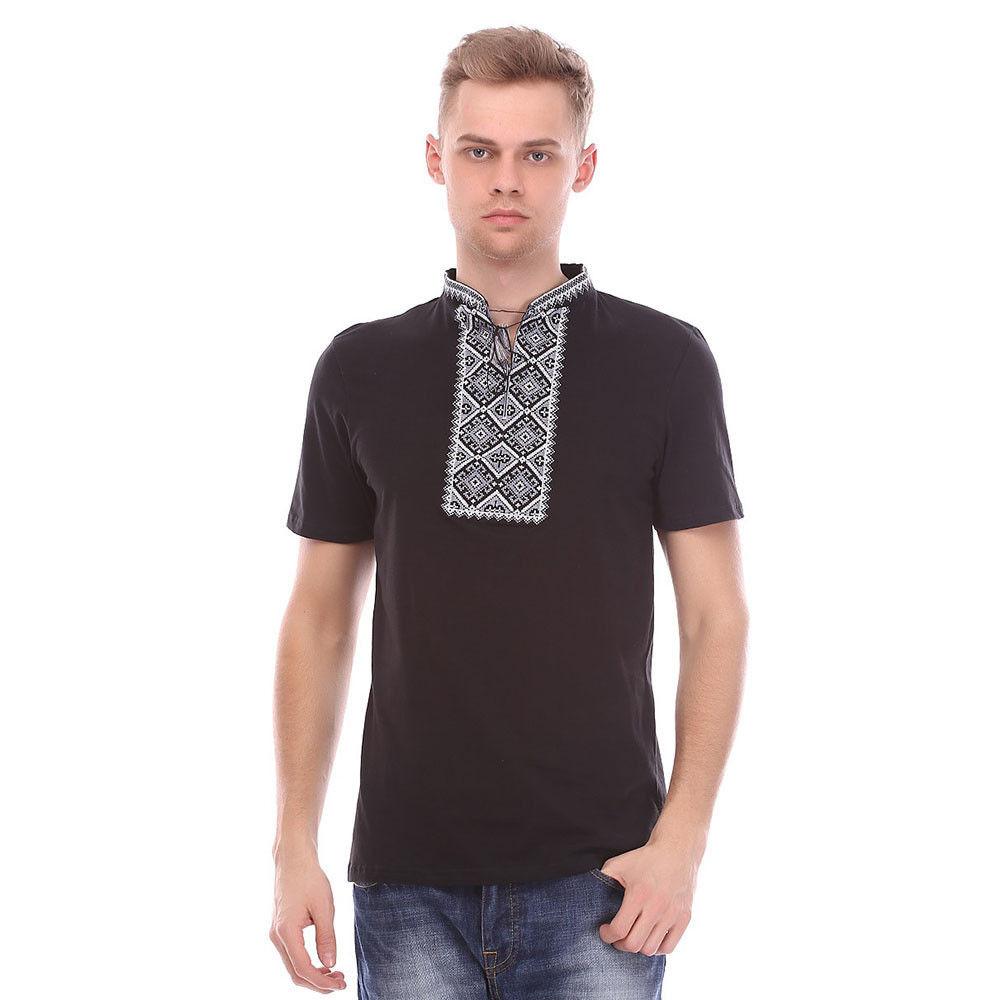 Мужская трикотажная вышиванка, национальная одежда - Интернет-магазин одежды Top2shoP в Хмельницком