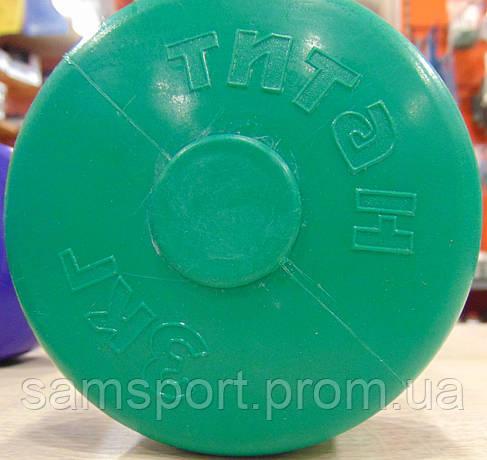 Гантели с пластиковым покрытием  3 кг