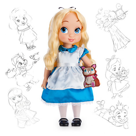 Кукла Алиса дисней аниматорс Disney Animators' Collection Alice Doll