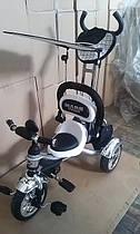 Велосипед 3-х колесный Mars Trike надувные колеса (белый)