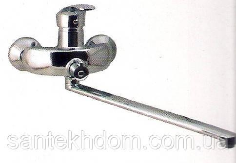 Смеситель для ванны G-ferro Mars ванна evro.