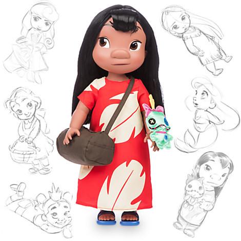 Кукла Лило Дисней аниматор disney animators collection lilo doll