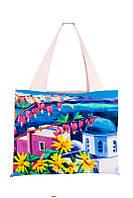 Текстильная сумка XYZ Аквария Дицентра разноцветная