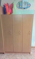 Шкаф для детской одежды три секции