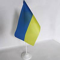 Флажки Украины настольные с подставкой