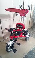 Велосипед 3-х колесный Mars Trike надувные колеса (красный)