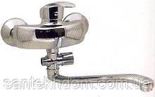 Змішувач для ванни G-ferro Mars ванна довга.