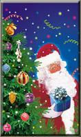 """Новогодний пакет """"Дед Мороз"""" 30*50 см"""