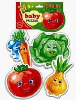 Беби пазлы: 1106-03 (Овочі) (Vladi Toys)(1/50) 410 Ч