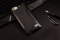Силиконовый чехол Duotone для Huawei Honor 4C чёрный