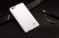 Силиконовый чехол Duotone для Huawei Honor 4C белый