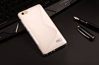 Силиконовый чехол Duotone для Huawei Honor 4C прозрачный