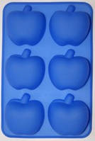 Форма силиконовая  Яблоки планшет