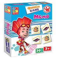 Развивающая настольная игра Фикси Игра Мемо Vladi Toys VT 2107-02 , фото 1