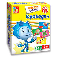 Развивающая настольная игра Фіксі Ігри Крокодил Vladi Toys VT 2107-04 (укр), фото 1