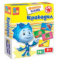 Развивающая настольная игра Фикси Игры Крокодил Vladi Toys VT 2107-04