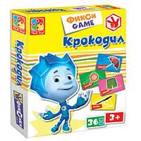 Развивающая настольная игра Фикси Игры Крокодил Vladi Toys VT 2107-04 , фото 1