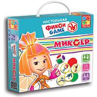 Развивающая настольная игра-ходилка Фикси Игры Миксер  Vladi Toys VT 2108-01